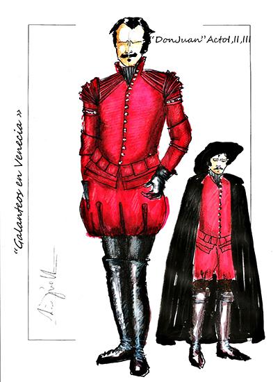 Don Juan A I,II,III